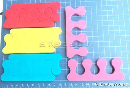 eva foam toe separators pedicure